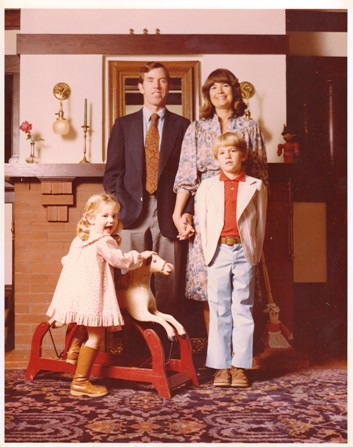 Goddard Family Christmas Card, 1978